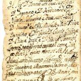 Manoscritto Biase Caricchio